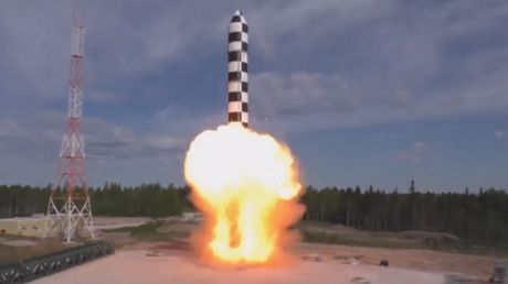 Fresh footage of futuristic weapon tests & development released by Russian military