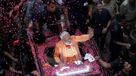 India's PM Modi secures second term & stronger majority, exit polls show