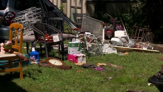 Veteran's house condemned after clutter found by first responders