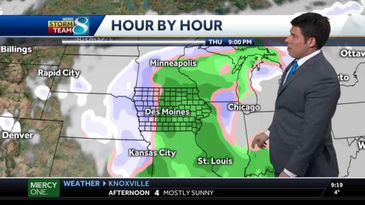 Single digit highs to continue into Monday