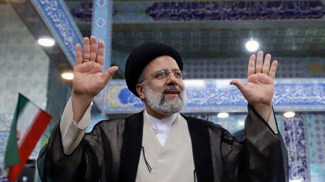 Iran's Rouhani & rival candidates offer their congratulations as Khamenei ally Raisi poised to win presidential contest