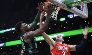 Morris leads depleted Celtics past Pelicans 113-100
