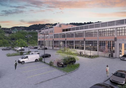 'The ultimate recycling:' Old Etna steel mill could become 100,000-square-foot tech flex space