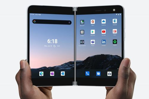 Microsoft launching a giant, foldable phone that will cost $1,400