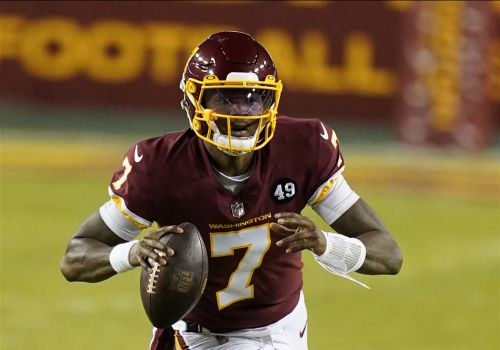 Former first-round quarterback Dwayne Haskins visiting with Steelers