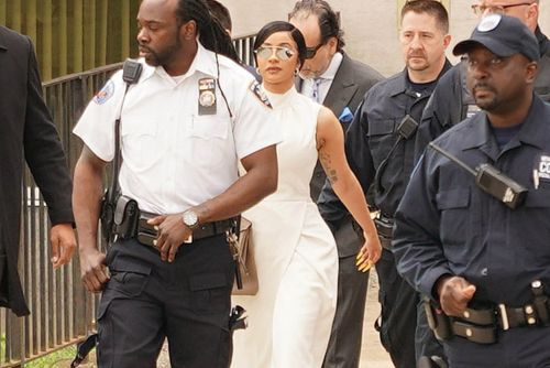 Cardi B looks like a boss for court and more star snaps