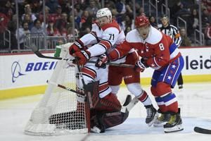 Ovechkin scores 49th goal, Capitals beat Hurricanes
