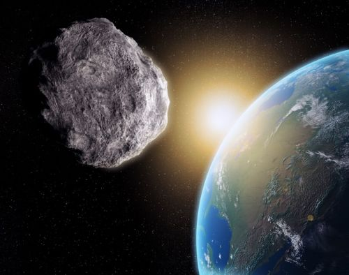 Watch an Asteroid Fly by Earth Today in a Live Webcast from Slooh!