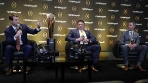 Familiar face missing as playoff coaches gather in Atlanta