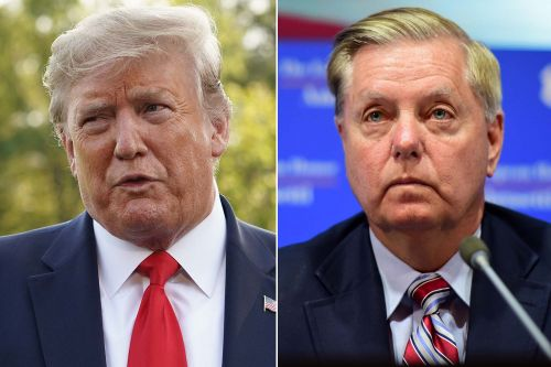 Trump and Lindsey Graham get into spat on Twitter over Iran