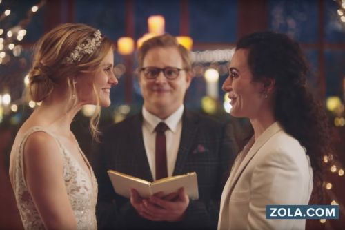Hallmark Channel apologizes for pulling ad featuring lesbian wedding