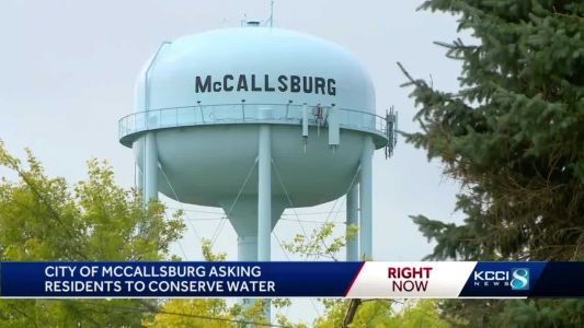 'All we have is what's in the tower': Iowa towns ask residents to conserve water