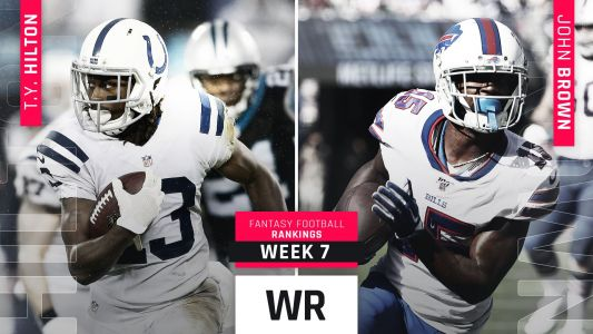 Week 7 Fantasy WR Rankings: Davante Adams, Amari Cooper top five.if healthy