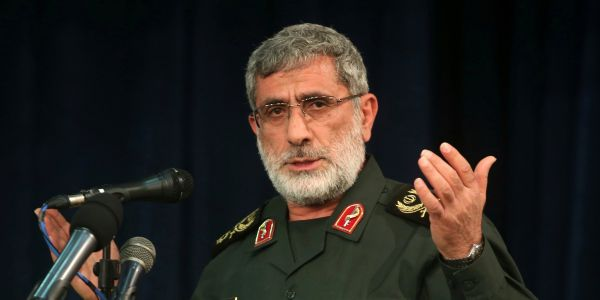 US warns Iran's new Quds Force commander 'will meet the same fate' as Soleimani if he kills Americans