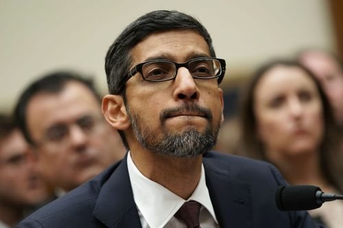 It's Google CEO Sundar Pichai's turn to roll the dice in a high-stakes game of monopoly