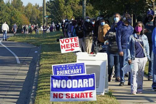 Supreme Court leaves North Carolina absentee ballot deadline at Nov. 12