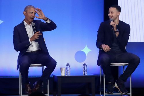 Stephen Curry joins Barack Obama at My Brother's Keeper event