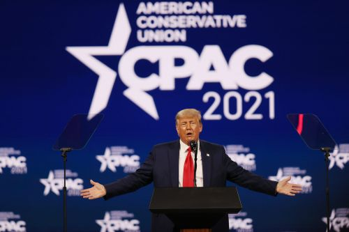 Trump falsely claims in CPAC speech that he could beat Democrats 'for a third time' in 2024