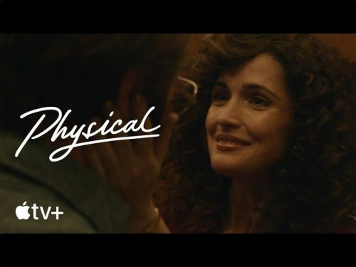 Apple shares behind-the-scenes look at its new dark comedy 'Physical'
