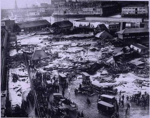 Remembering Boston's strangest disaster: The Great Molasses Flood of 1919
