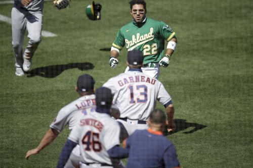 Laureano, Cintron suspended in A's-Astros kerfuffle