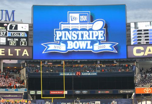 There will be no Pinstripe Bowl this season