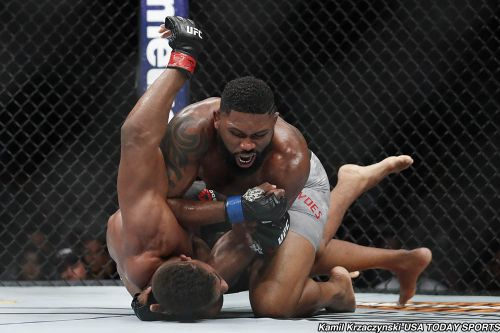 Curtis Blaydes vs. Francis Ngannou 2 in the works for UFC Fight Night 141 in Beijing