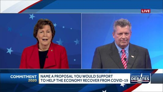 2020 NH U.S. Senate debate: How to help the economy recover from COVID-19