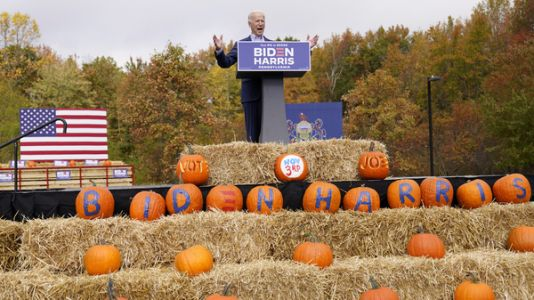 With Stops In 4 Key States, Biden And Trump Bring Their Closing Arguments To Voters