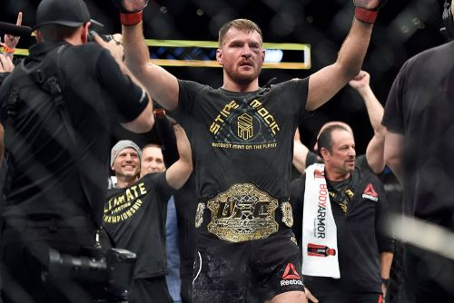 Stipe Miocic wants to fight boxer Tyson Fury, not interested in Daniel Cormier trilogy