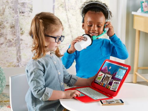 Fisher-Price launches pandemic-themed toys, like a work-from-home play set, as millions of American parents continue to work remotely