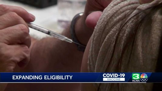 Counties expand vaccine eligibility as appointments go unfilled