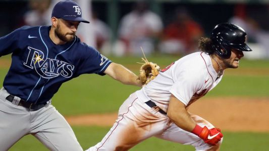 Red Sox routed by Rays in second straight loss
