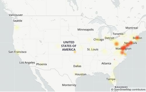 People are reporting problems using major web services as Verizon Fios experiences outages
