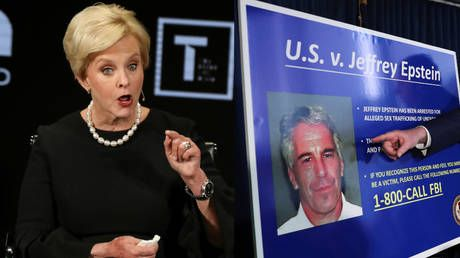 Who, exactly? Cindy McCain says 'WE' all knew about Epstein's sex crimes