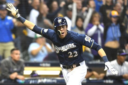 Christian Yelich can't believe he's in this spot now