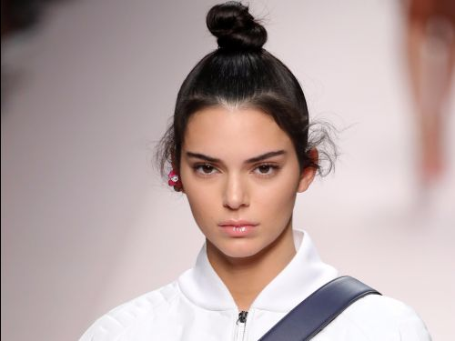 Kendall Jenner rocked the 'no pants' look in a thigh-high jacket on the runway - and it's proof the trend is here to stay