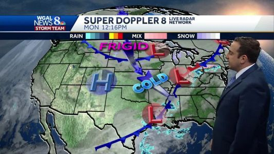 Few Showers Today & Tonight; Big Cool Down For Thanksgiving