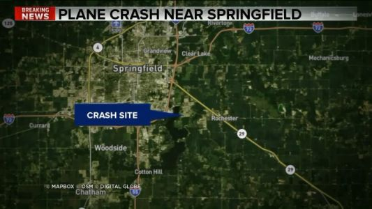 Twin-engine plane crashes near Springfield airport, FAA reports