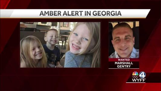 AMBER Alert canceled for 3 children with man 'known to be suicidal and heavily armed'
