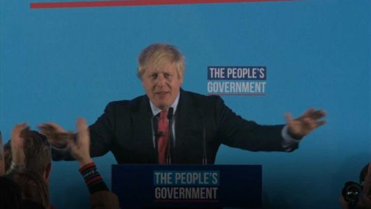 UK's Boris Johnson claims victory, seeks to 'get Brexit done'