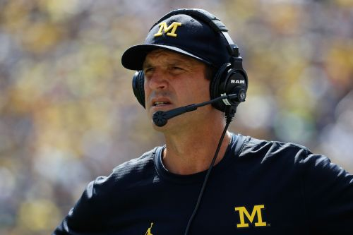 Michigan LB appears to threaten Jim Harbaugh with violence in series of disturbing tweets