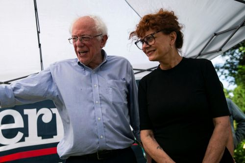 Susan Sarandon appears to take shot at Elizabeth Warren during Bernie Sanders event