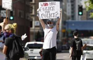 Demonstrations trickle out to Baltimore suburbs over George's Floyd's death in Minneapolis