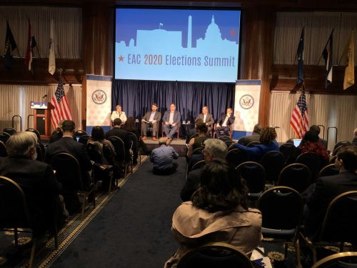 Summit delivers warning about threats to 2020 elections