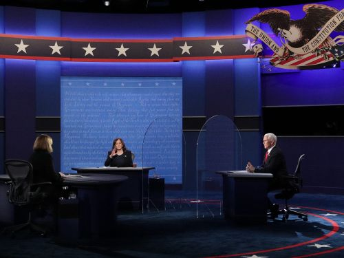 Kamala Harris slams the 'ineptitude' and 'incompetence' of the Trump administration's response to COVID-19 at the vice presidential debate