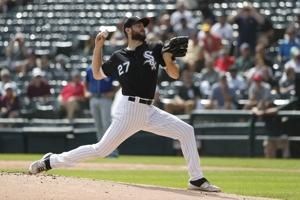 White Sox shut down Giolito with lat strain