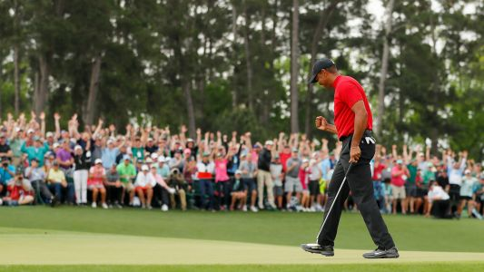 Phil Mickelson congratulates Tiger Woods after Masters win: 'What a great moment'