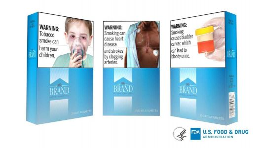 FDA reveals proposed graphic warnings for cigarette packs and ads