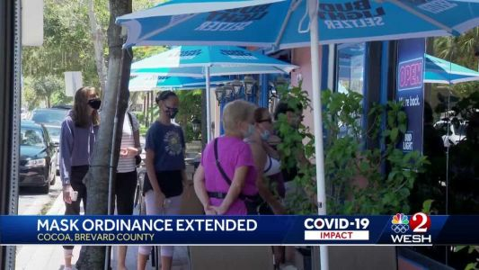 Mask ordinance extended in Cocoa